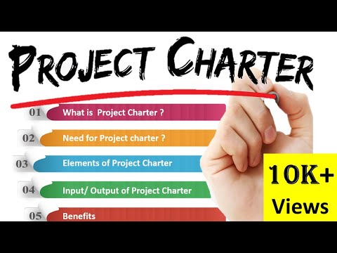 What is Project Charter in Project Management ? [ PROJECT CHARTER ] How to create #ProjectCharter ?