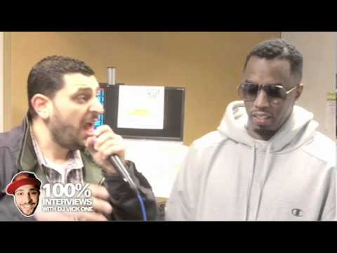 Awkward moments with Diddy and Dj Vick One
