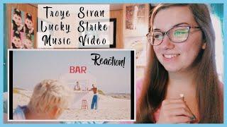 "Troye Sivan ""Lucky Strike"" Music Video REACTION!"