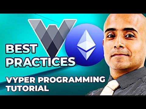 Best Practices For ERC20 Token Standard in Vyper – Blockchain Programming