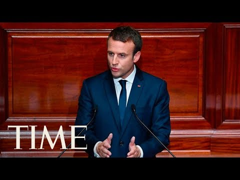 Emmanuel Macron Addresses The Joint Session Of Congress: Discusses Nationalism, Fear | TIME