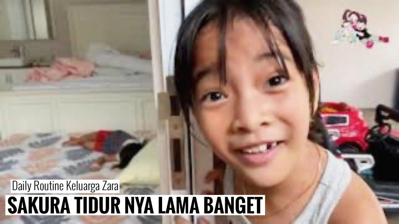 DAILY ROUTINE Zara Cute   Hidup Sehat Dari Kebun ke Meja dan Olah Raga Badminton
