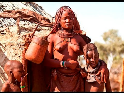 Uncontacted Tribe at Namibia Himba Tribes 2015