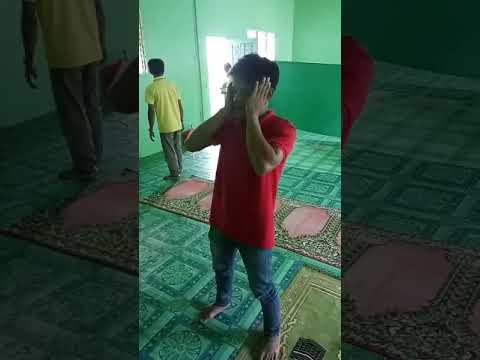 ADZAN TAMPA PENGERAS SUARA MASYAALLAH MERDU SEKALI