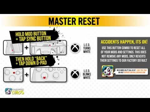 How to restart a xbox 360 controller