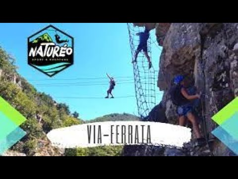 Via-ferrata - Naturéo Sport Aventure - 2020