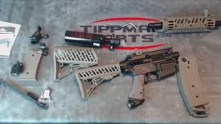 Tippmann TMC Elite Cal 68 DE MagFed Markierer inkl Air Thru Car Stock 0,2l HP