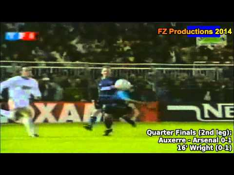 1994-1995 Cup Winners' Cup: Arsenal FC All Goals (Road to the Final)