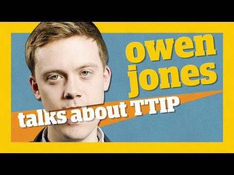TTIP - Why we have to stop the Transatlantic Trade and Investment Partnership | Owen Jones talks...