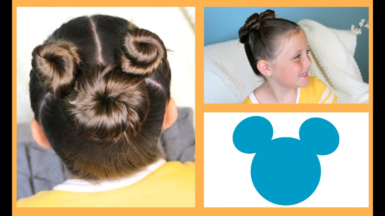 Hair Style Of Death: Not So Hidden Mickey Hairstyle Tutorial