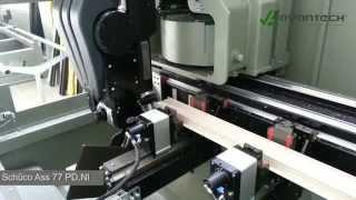 Avantech Schüco ASS 77 PD.NI process