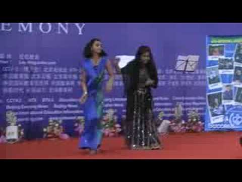 Archna Sharma and Poyni Desai dance in Beijing
