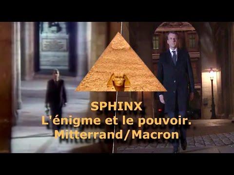 """Le Sphinx, rituel Franc Maçon d'intronisation de """"l'Emmanuel"""" Macron."""