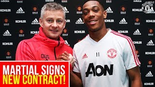 anthony martial signs new contract exclusive interview manchester united
