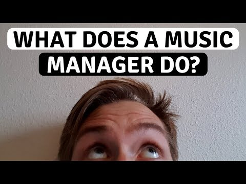 What Does a Music Manager Do
