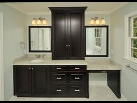 Bathroom Vanity With Makeup Table You