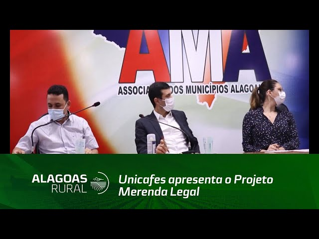 Unicafes apresenta o Projeto Merenda Legal