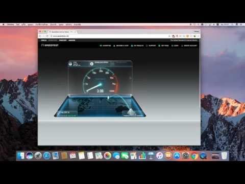 ทดสอบ SpeedTest 3BB 200/50 Inter ราคา 1400 บาท