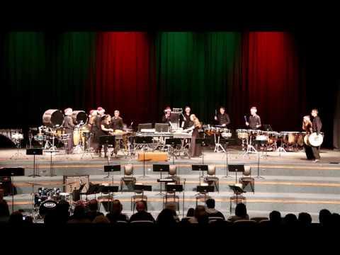 Layton High School Drumline Christmas 2016