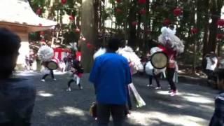 揖斐郡春日上ケ流(かみがれ)太鼓踊り