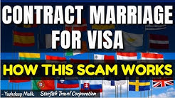 Contract Marriage Scam & Process (in Hindi; हिंदी में )