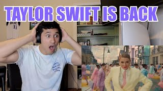 SHE'S BACK, Taylor Swift - ME! (feat. Brendon Urie of Panic! At The Disco) - LIVE REACTION! Video