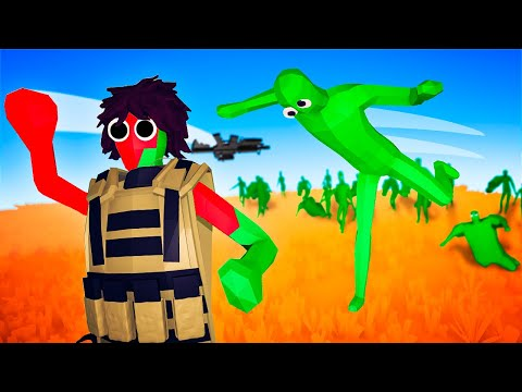 TABS - Massive ZOMBIE INVASION Infects the Military Faction in Totally Accurate Battle Simulator!
