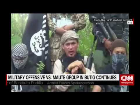 Military offensive vs  Maute group in Butig continues