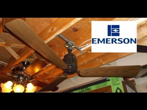 Emerson heat fan ceiling fan youtube emerson heat fan ceiling fan mozeypictures Images