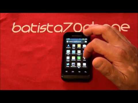 Video Recensione Motorola Defy Mini da batista70phone