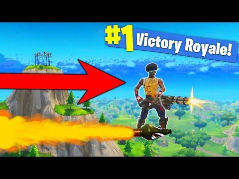 LEARNING TO ROCKET RIDE! - FORTNITE BATTLE ROYALE
