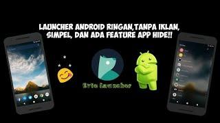 Launcher Android Ringan, Tanpa Iklan, Gratis, dan Bisa Untuk Penyembunyi Aplikasi/App Hide screenshot 1