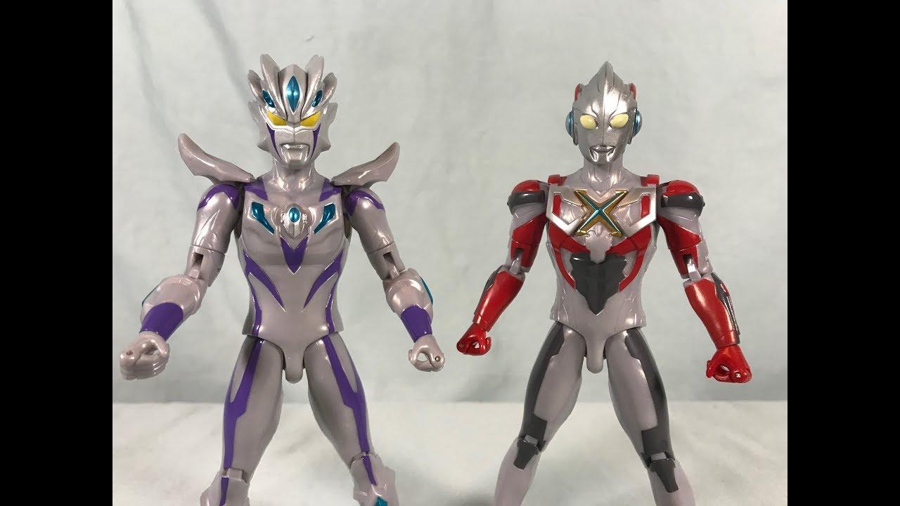 Ultraman Ultra Action Figure Zero Beyond & X Review