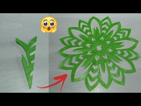 4 Snowflake Ideas || Valentine's day Decoration || paper craft ideas