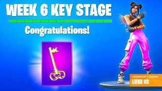 NEW SECRET KEY STAGE LOCATION in Fortnite Season 8..