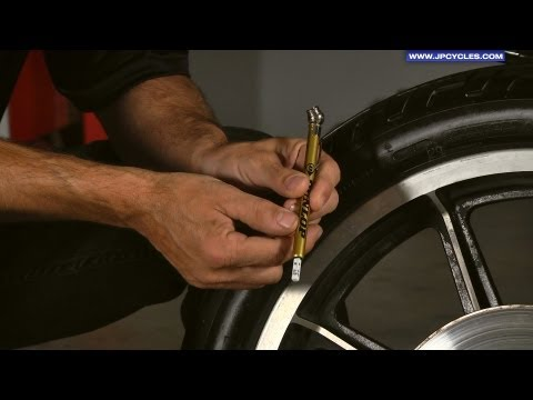 How to Check Motorcycle Tire Pressure by J&P Cycles