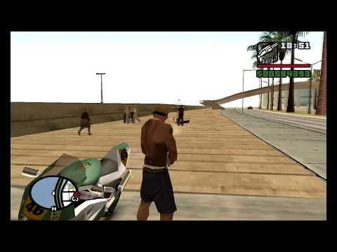 Gta San Andreas Bug Para Cj Nao Cair Da Moto