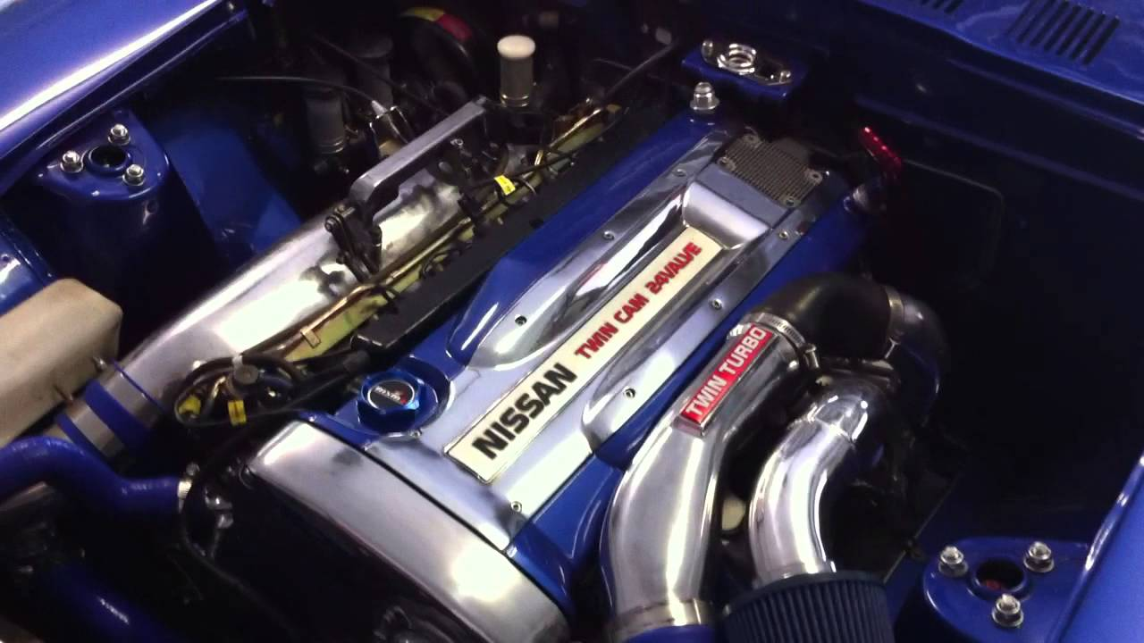 Rb26 Stroker Datsun 260z Project George Mov