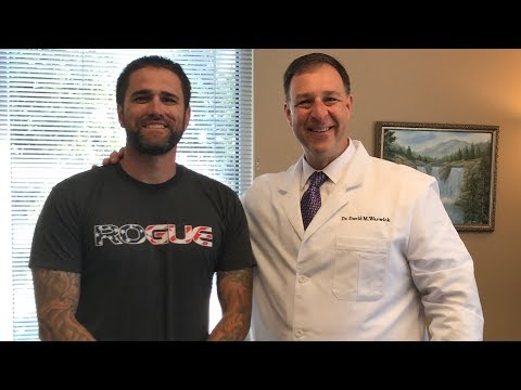 Crossfitter Marine gets Adjusted Neck Back Pain w Chiropractor Dr David Warwick