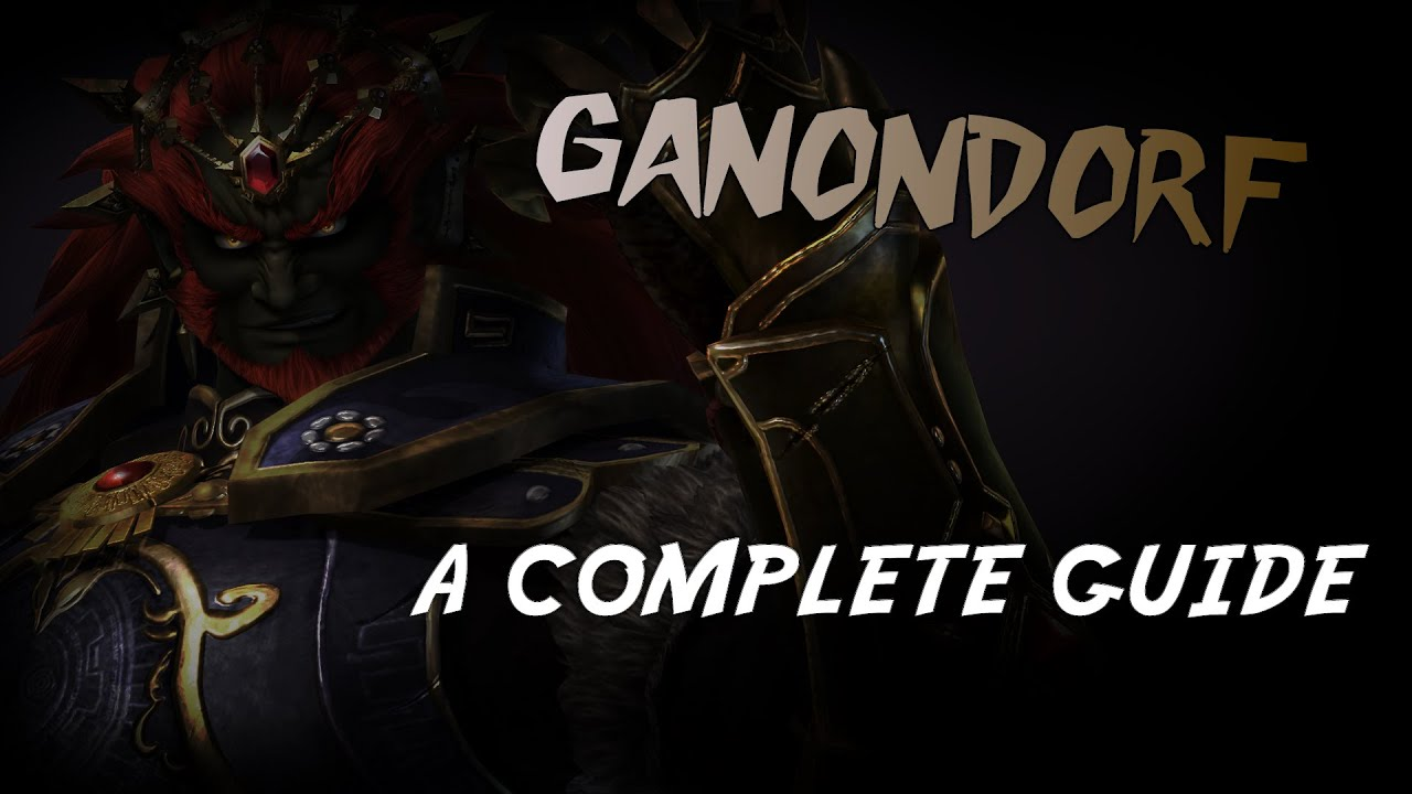 Ganondorf-complete guide for smash 4(wii u & 3ds) youtube.