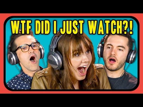 YOUTUBERS REACT TO WTF DID I JUST WATCH?! COMPILATION