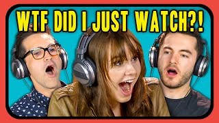 Repeat youtube video YOUTUBERS REACT TO WTF DID I JUST WATCH?! COMPILATION
