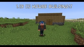 Minecraft 1.13 [1] House Building