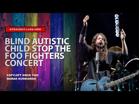 Autistic Child Make Dave Grohl Foo Fighters Stops The Song @ Xcel Energy Center St. Paul