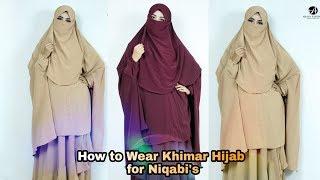 HOW TO WEAR KHIMAR || KHIMAR HIJAB STYLE FOR NIQABI'S || Rakhi's Beauty World