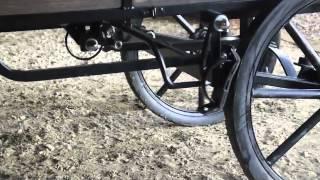 Miniature Horse Show Wagon