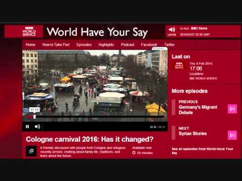 "BBC ""World Have your Say"", 04.02.2016"