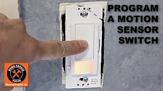 How to Program the Maestro Motion Sensor Light Switch - YouTubeYouTube