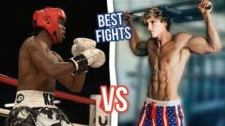 LOGAN PAUL vs KSI Best Fights Compilation