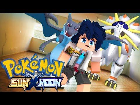 Minecraft - POKEMON SUN X MOON - ROUBARAM MEU POKEMON LENDÁRIO ! 11